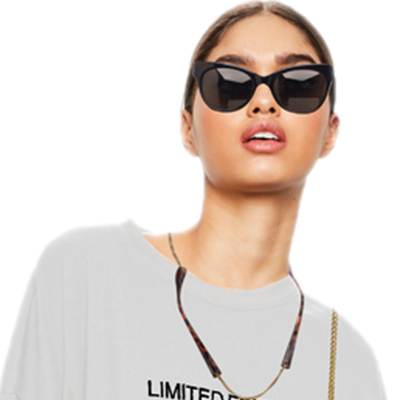Image of Model Sunglass Branch Necklace